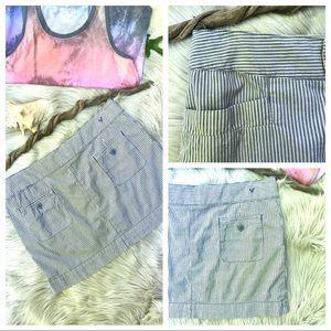 • A.🦅.O. Stretch Mini Skirt •